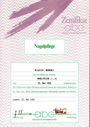 1993 - Nagelpflege; ?>